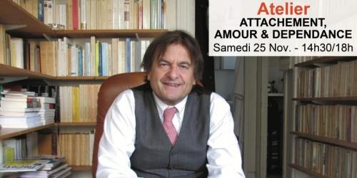 Bertrand Vergely - Attachement, Amour & Dépendance (atelier)